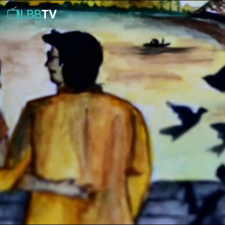Painting,Watercolor paint,Art,Cartoon,Visual arts,Illustration,Fictional character,Paint,Modern art