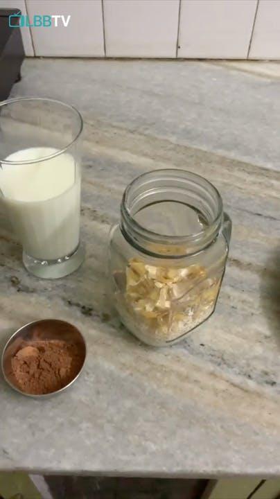 Food,Mason jar,Cuisine,Dish,Ingredient,Dairy,Almond milk,Glass