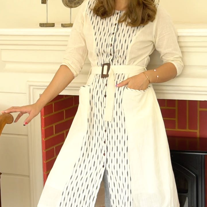 I've Been Wearing This Belted Dress On Repeat!